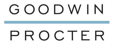Goodwin Proctor logo.